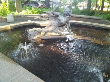 Farewell to orpheus wikipedia for Garden fountains portland oregon