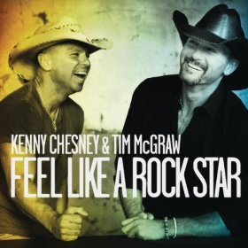 Feel Like a Rock Star 2012 single by Kenny Chesney and Tim McGraw