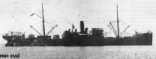 الحرب ال - الحرب العالميه الاولى HMSAnne