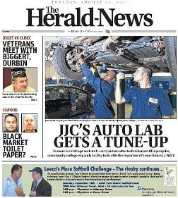 <i>The Herald-News</i> Newspaper in Joliet, Illinois