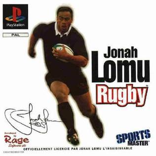 <i>Jonah Lomu Rugby</i> video game