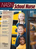 NASN School Nurse - NASN School Nurse - Wikipedia, the free encyclopedia - NASN School Nurse is an American bimonthly peer-reviewed nursing journal   that covers the field of school nursing. The editor-in-chief is Cynthia Galemore.
