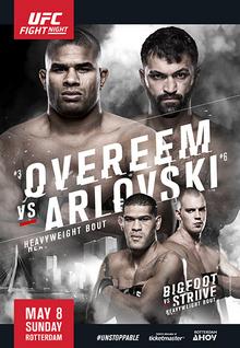 Ufc Fight Night Overeem Vs Arlovski Wikipedia