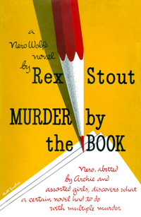 <i>Murder by the Book</i> book by Rex Stout