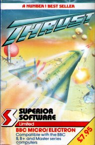 <i>Thrust</i> (video game) video game