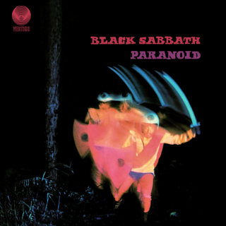 <i>Paranoid</i> (album) 1970 studio album by Black Sabbath