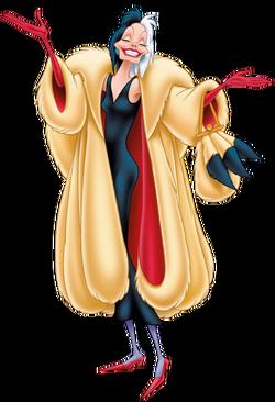 Deville cruella Disney Cruella