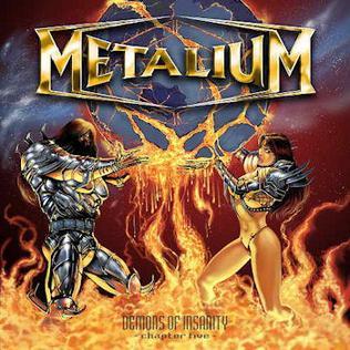 <i>Demons of Insanity – Chapter Five</i> 2005 studio album by Metalium
