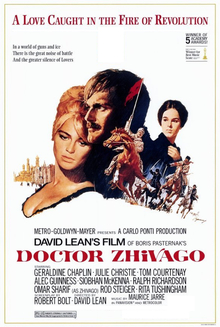 Image result for Dr Zhivago 1965
