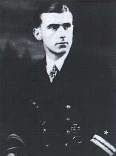 Hans Jenisch German navy officer and world war II U-boat commander, Captain in the Federal German Navy