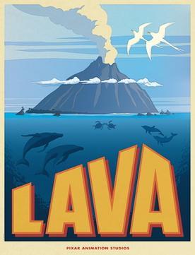 Image result for pixar lava