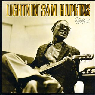 <i>Lightnin Sam Hopkins</i> 1962 studio album by Lightnin Hopkins