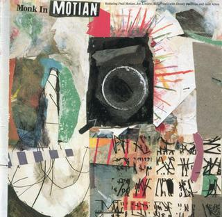 <i>Monk in Motian</i> 1989 studio album by Paul Motian