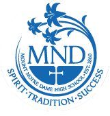 Mt. Notre Dame High School Logo.png