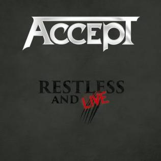 <i>Restless and Live</i> 2017 live album by Accept