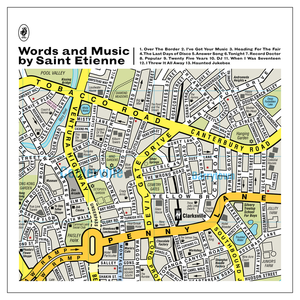 <i>Words and Music by Saint Etienne</i> 2012 studio album by Saint Etienne
