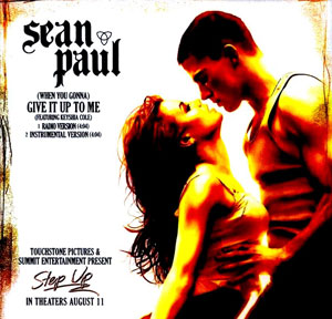 Sean Paul featuring Keyshia Cole — (When You Gonna) Give It Up to Me (studio acapella)
