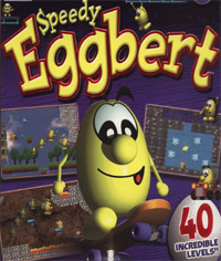 Speedy Eggbert box cover