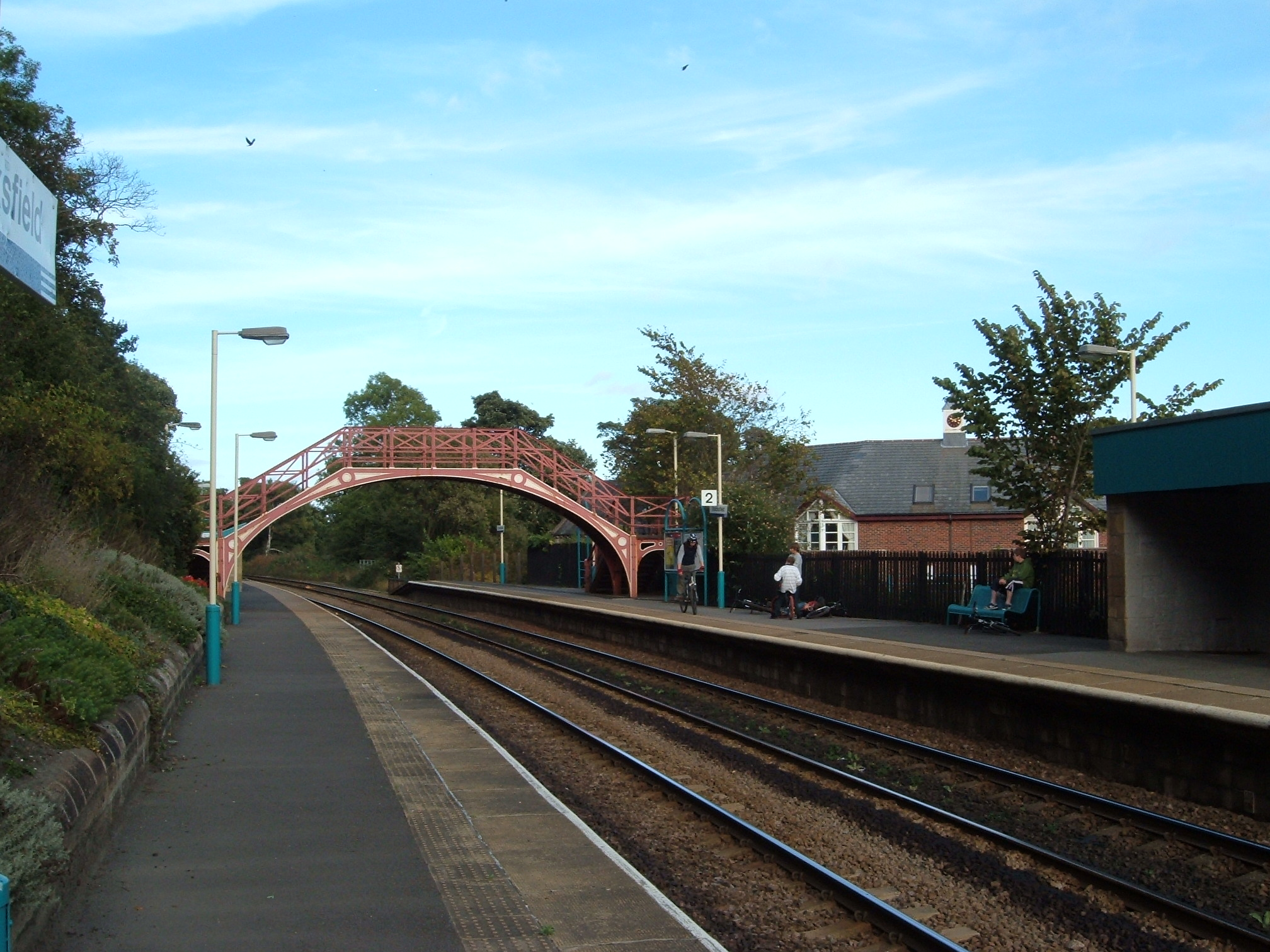 Stocksfield Railway Station
