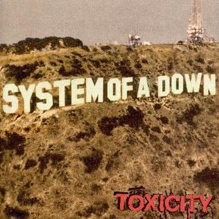 System of a Down SystemofaDownToxicityalbumcover