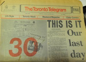 Canadian daily newspaper