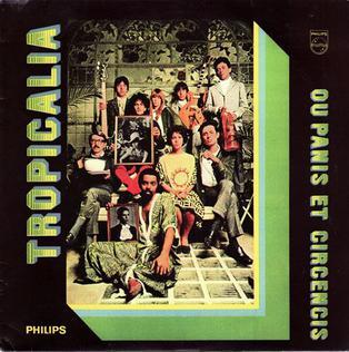 <i>Tropicália: ou Panis et Circencis</i> 1968 studio album by Various artists