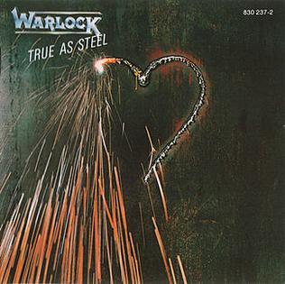 <i>True as Steel</i> (album) 1986 studio album by Warlock