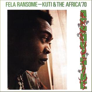 <i>Afrodisiac</i> (Fela Kuti album) 1973 studio album by Fela Ransome-Kuti and the Africa 70
