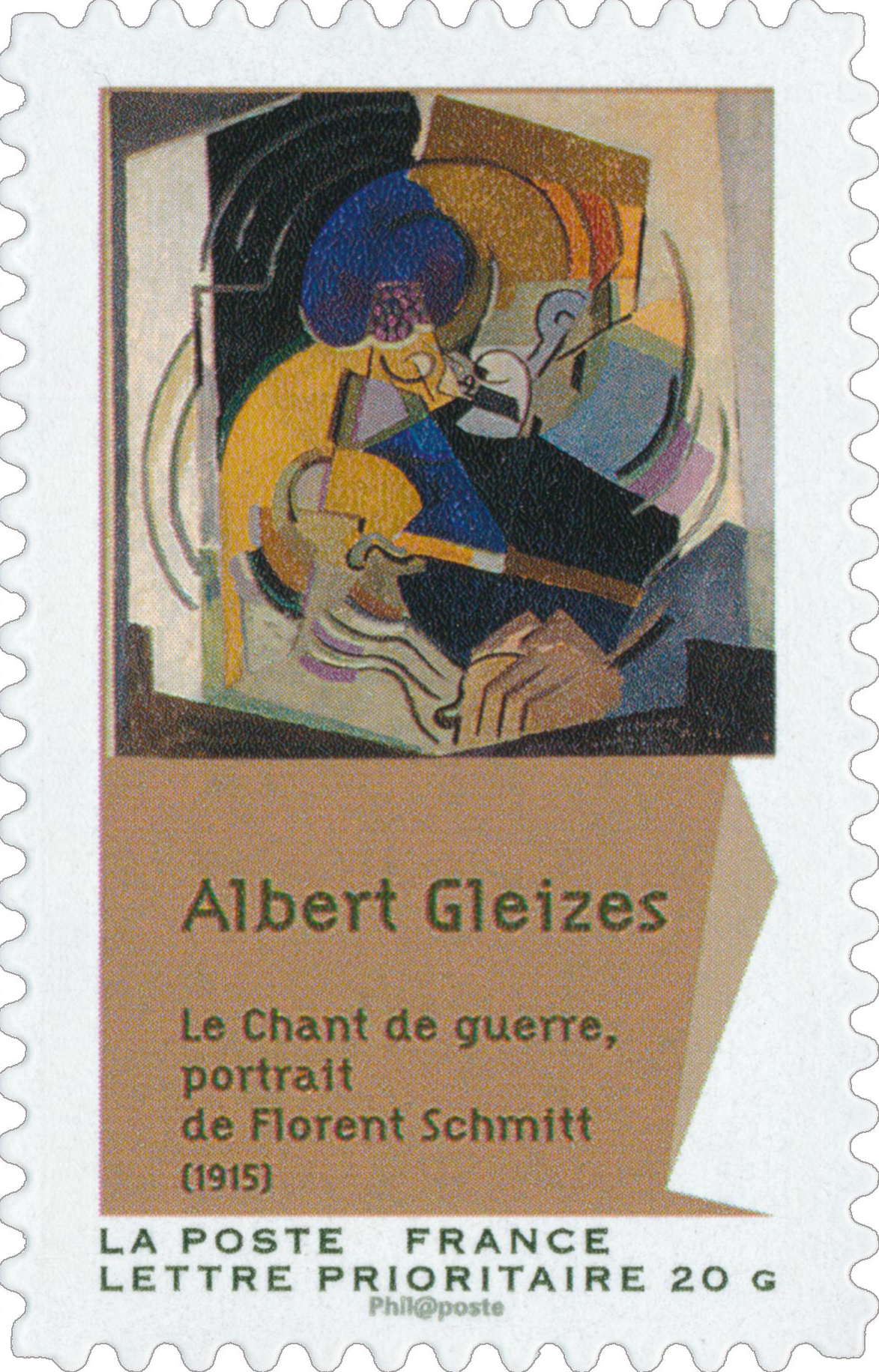 Filealbert Gleizes 1915 Le Chant De Guerre Portrait De