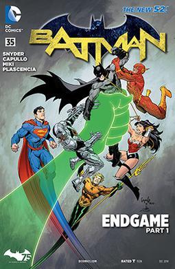 Batman Vol The New 52 7 Endgame