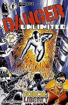 1994 John Byrne Danger Unlimited No.3