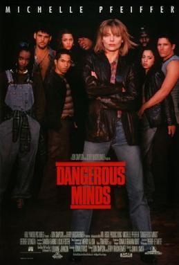 Film poster for Dangerous Minds - Copyright 19...