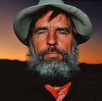 Portrait of Edward Abbey