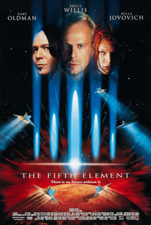Theatrical poster for The Fifth Element