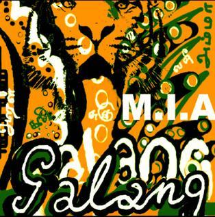 Portada single Galang de M.I.A.