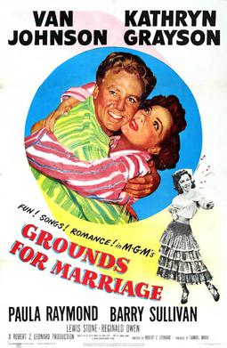 Grounds for Marriage poster Robert Z. Leonard   Grounds for Marriage (1951)