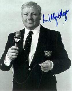 Lord Alfred Hayes British professional wrestler, professional wrestling manager, and commentator