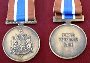Medal for Long Service, Bronze