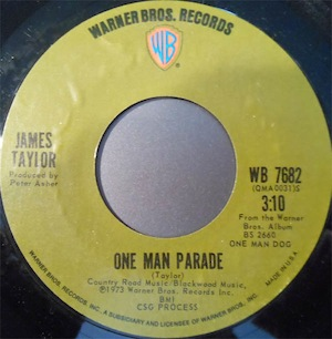 One Man Parade 1973 single by James Taylor