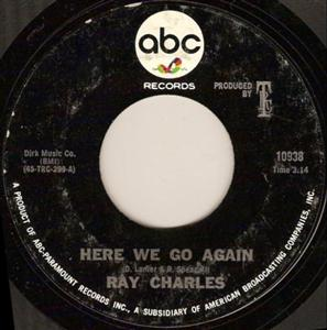 Here We Go Again (Ray Charles song) 1967 song by Ray Charles