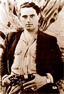 Salvatore Giuliano (1922–1950), a Sicilian bandit mythologized after his death as a kind of Robin Hood