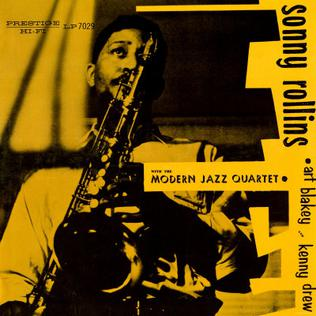 Sonny Rollins With Modern Jazz Quartet Almost Like Being In Love In A Sentimental Mood