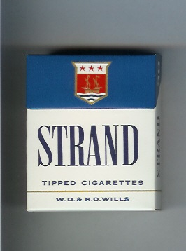 pack of Strand cigarettes