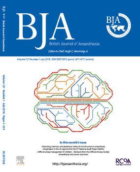 British Journal Of Anaesthesia Wikipedia