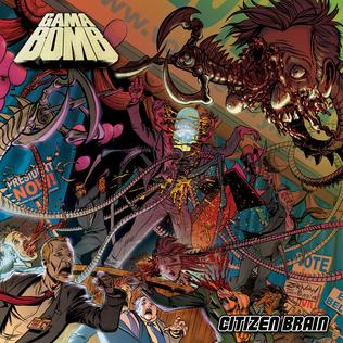 <i>Citizen Brain</i> 2008 studio album by Gama Bomb