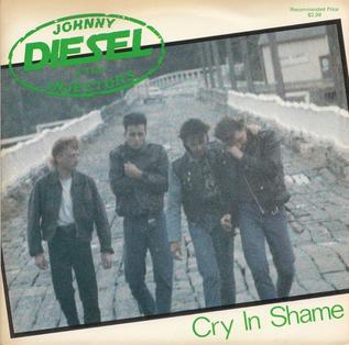 Cry in Shame 1989 single by Johnny Diesel and the Injectors
