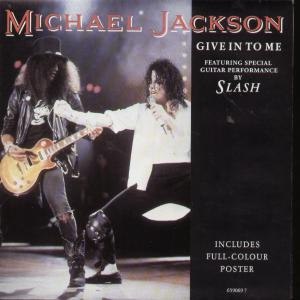 Cover image of song Give In to Me by Michael Jackson