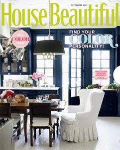 House Beautiful September 2009 Cover