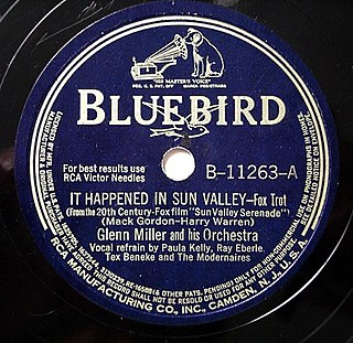 It Happened in Sun Valley song performed by Glenn Miller