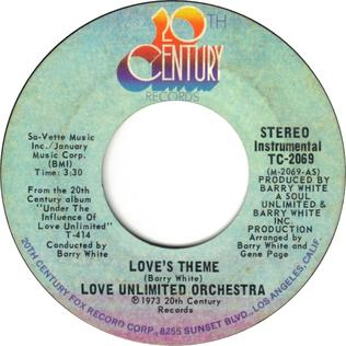 Loves Theme 1973 single by The Love Unlimited Orchestra